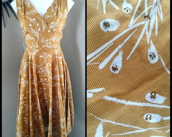 Vintage 1950s Alex Colman dress