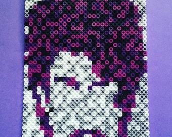 Prince / Purple Rain / Perler Bead sprite / magnet / fuse beads / hama beads / fine art / Pixel art