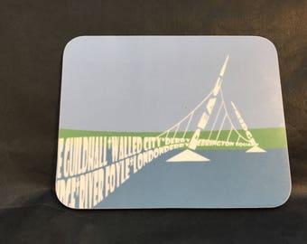 Peace Bridge coaster