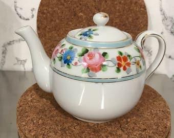 Hand painted Nippon tea pot