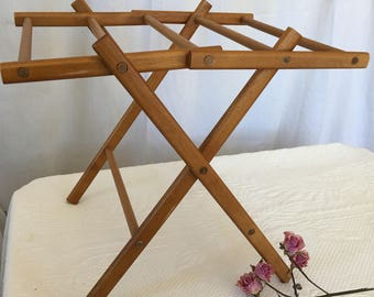 Antique Miniature Drying Rack. Herb Drying Rack or Hang Hand Towels or Small Quilts From Drying Rack.