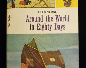 Around the World in Eighty Days by Jules Verne 1971