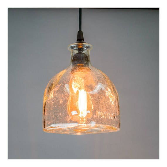 Large Patron Bottle Pendant Light