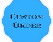 CUSTOM ORDER for Elissa- Keychain Wristlets with  Custom Message