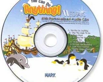 You Can Do Anything Personalized Children's CD
