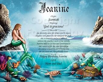 Birthday-Child-Jeanine Beautiful Keepsake and Remembrance