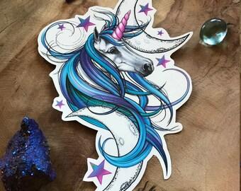 Unicorn Tattoo - Unicorn Temporary Tattoo - Purple Unicorn - Beautiful Unicorn Accessory for Unicorn Lovers