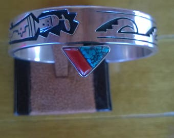 Alvin and Lulu Begay Yei Bracelet From the 1990's