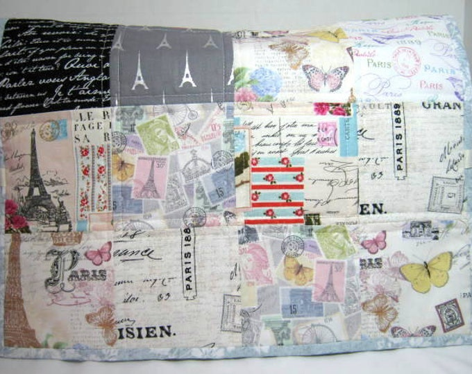 Paris Quilted Sewing Machine Dust Cover