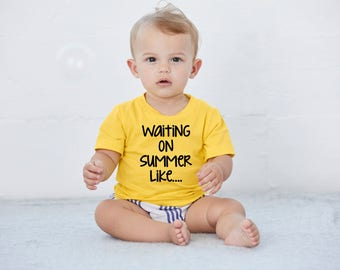 spring baby clothes, trendy hipster cool baby toddler clothing, yellow onesie, summer onesie, baby boy girl, unisex onesies, urban 3 6 12