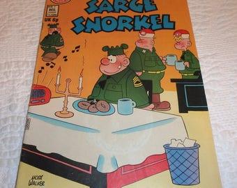 Beetle Bailey Featuring Sarge Snorkel December 1973