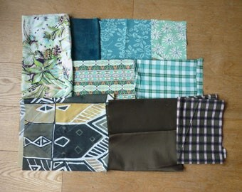 set of fabrics for patchwork 161 coupons