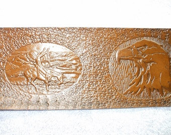 native american wallet / billfold  (145) eagle wallet. ( I ship the same day as you order )