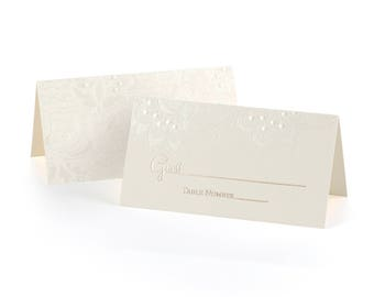 Wedding Place Cards, Seating Cards, 25 Wedding Stationery Cards, Table Cards, Guest Seating Cards