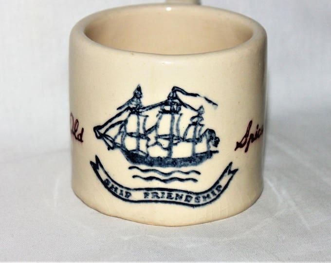 Vintage Old Spice Shaving Mug, Ceramic Shaving Mug