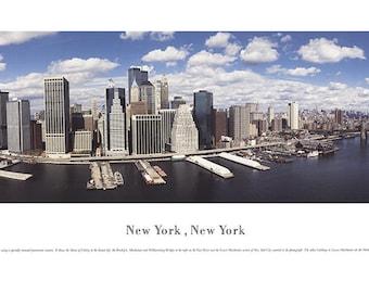 James Blakeway-New York Panorama-1994 Poster
