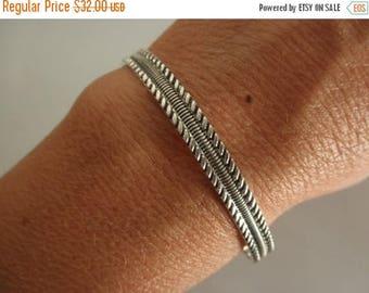 10%0FF Sterling silver Cuff bracelet