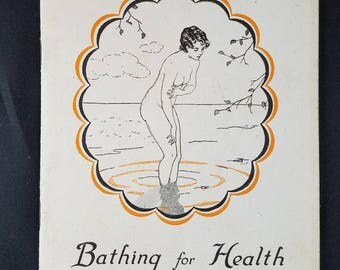 Bathing for Health and Beauty 1930s