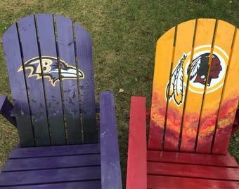 Custom Adirondack Chair, Personalized Adirondack Chair, Adult size Adirondack chair, Standard size Adirondack chair