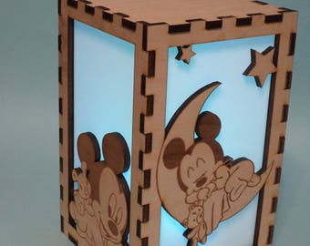 Baby Mickey Color Changing Luminary