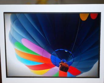 photo card, Hot Air Balloon photograph, Albuquerque, New Mexico