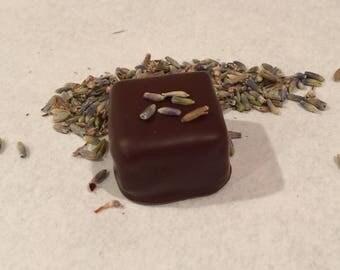Bergamot & Lavender-Dark Chocolate Ganache
