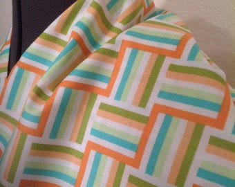 BUY the BOLT SALE--5+ yards--Wishing Well--Ladder Stripe--Jenean Morrison--Orange