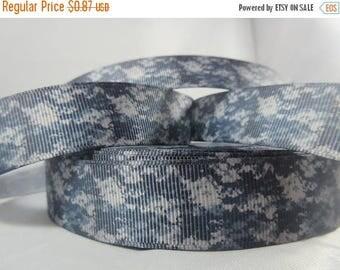 Camo Ribbon, Miltary camo Ribbon, soldiers, military craft, grosgrain ribbon,deployed spouse, wholesale ribbon, 7/8 Inch Ribbon, RN17027
