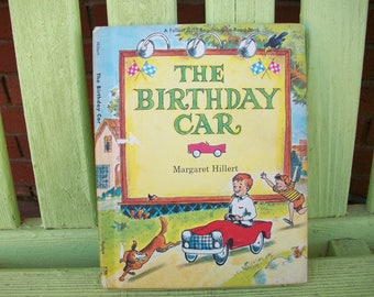 The Birthday Car by Margaret Hillert, 1966 First Edition