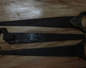 Trio of Vintage Hand Saws