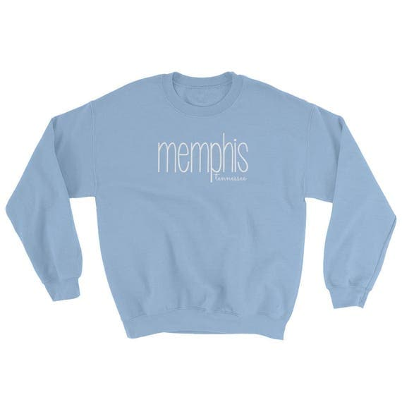Memphis Tennessee TN Unisex Men's Women's Sweatshirt