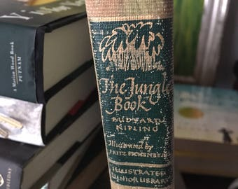 The Jungle Book by Rudyard Kipling Illustrated