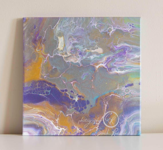 Fluid Painting, Acrylic Painting, Painting 92, Abstract Painting, Fine Art, Canvas Art, Housewarming Gift, Original Painting, Office Decor