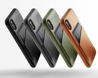 Full Leather Wallet Case for iPhone X