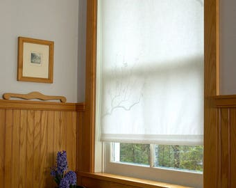 Custom Japanese Paper Roller Blinds by ShojiShades on Etsy