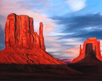 Housewarming Gift - Custom Painting Landscape From Your Photo - Free Shipping