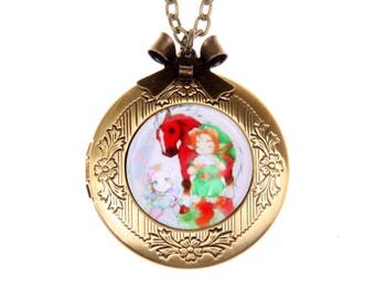 Necklace locket Zelda 2020m