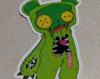 ZomBear Vinyl Stickers