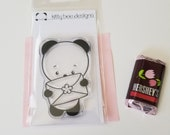 Happy Mail Panda Clear Stamp