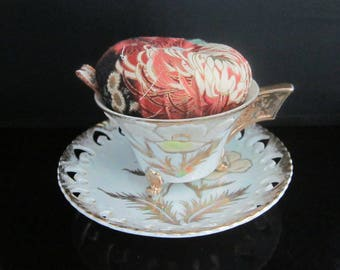 Teacup Pincushion - **FREE SHIPPING**