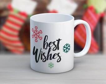Best Wishes // 11 oz or 15 oz Coffee Mug