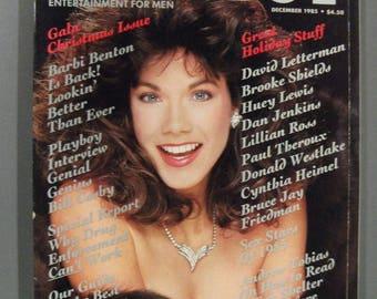 Playboy Magazine December 1985