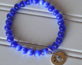 Blue Dove Stretch Bracelet