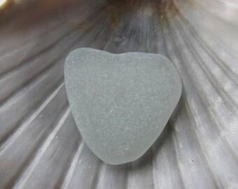 Sea glass sea foam green heart
