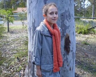 Knit scarf scarves wraps women's winter accessories woollen