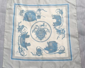 Vintage Hermes Medical Scarf