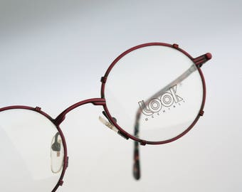 Look Mod 253 Col 025 / Vintage eyeglasses & Sunglasses / NOS / 90s rare and unique