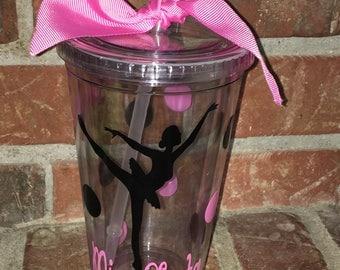 Ballet Dancer Gift - Ballet Teacher Gift - Dancer Personalized Tumbler - FREE Personalization -Dancer Gift