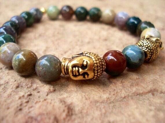 Buddha Bracelet, Buddha Bead Bracelet, Mens Beaded Bracelets, Mala Bracelet, Gift For Her, Gift For Him, Zen Jewelry, Bracelet For Women