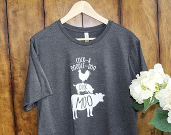 "Boutique ""Moo-Oink"" Tee"